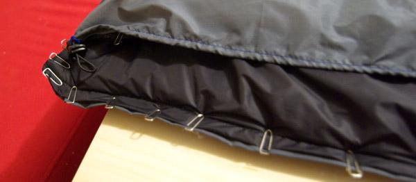 Tanka et cordon de serrage à la taille