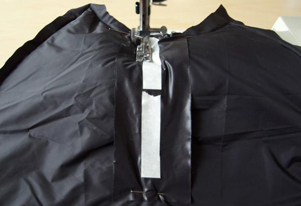 Pièce supplémentaire intérieure pour le zip